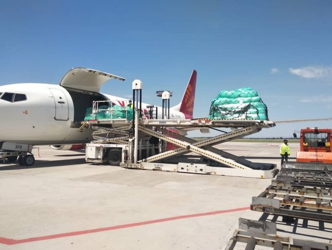 SpiceJet connects cargo to Kyrgyzstan and Egypt