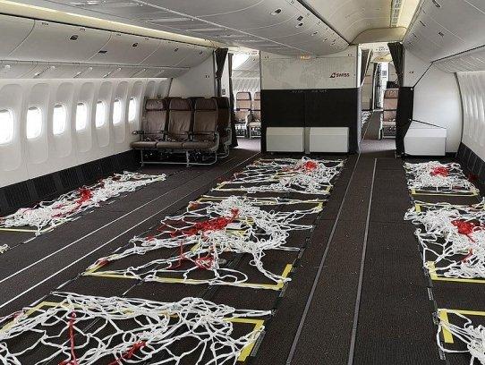 Swiss converts three B777s to transport extra 36% cargo