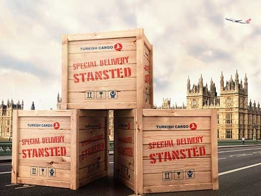 London Stansted is Turkish Cargo's newest freighter destination