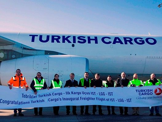 Turkish Cargo to transport perishables to Europe, starts weekly service to Liege