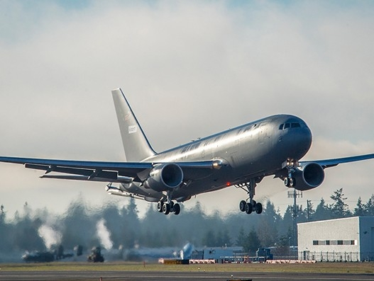 US Air Force's Boeing KC-46A Pegasus concludes first airborne test