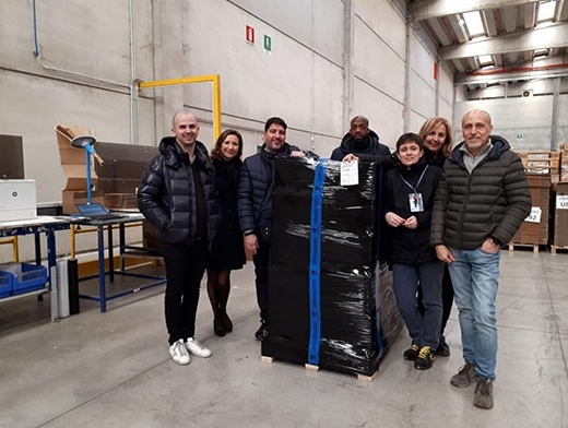 Ubisoft partners with Geodis for the supply chain in Italy