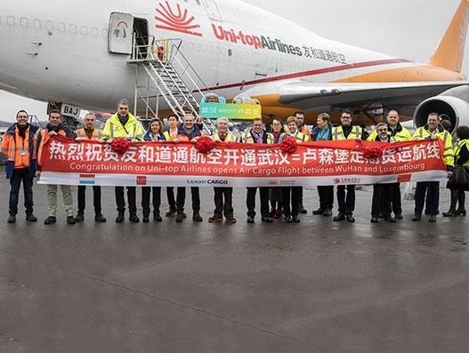 China's Uni-top Airlines launches Luxembourg freighter service