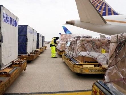 United Cargo transports ventilators from Chicago to Delhi on behalf of USICOC