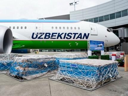 Uzbekistan Airways flies humanitarian relief as part of Project C.U.R.E