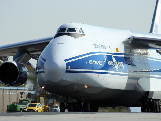 Volga-Dnepr delivers gold mining 'crusher' to Magadan