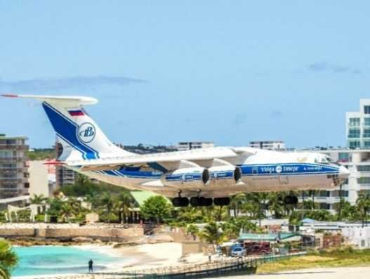 Volga-Dnepr delivered mobile ICU units to the Caribbean