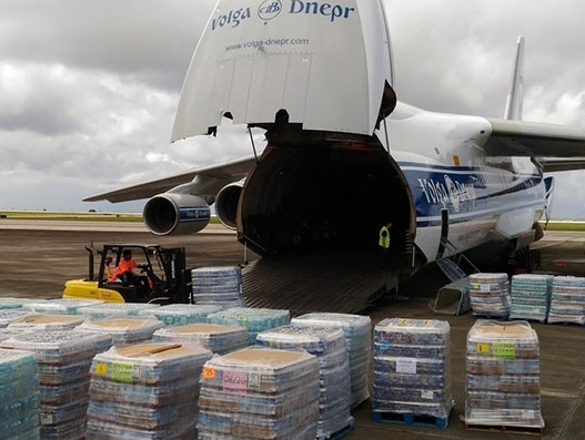 Volga-Dnepr Airlines rushes relief aid to Guam to help typhoon Mangkhut survivors