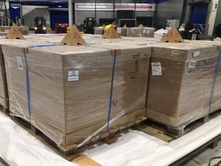 WFS, Air Canada transport 20 tonnes of vial caps for Covid-19 vaccines