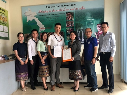 Yusen Logistics Lao inks agreement with Lao Coffee