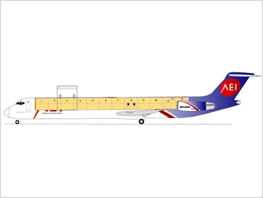 AEI wins conversion order for two additional MD-80SF series freighters