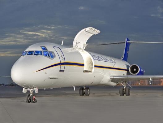 AEI announces third MD-80SF series conversion for Everts Air Cargo