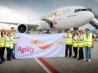 Agility GIL's air freight revenues grow 17% in H1