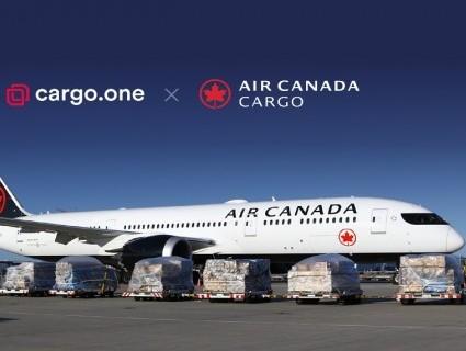 Air Canada Cargo checks into cargo.one e-booking platform
