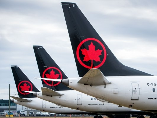 Air Canada stares at $1 billion net loss in Q1 2020