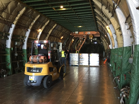 Air Partner operates relief flights in response to typhoon Mangkhut