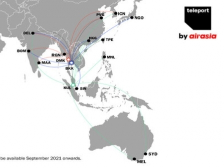 airasia's Teleport strengthens key routes with 737-800 freighter and converted A320 aircraft
