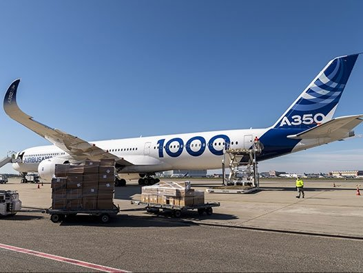 Airbus completes latest Covid-19 mission with an A350-1000