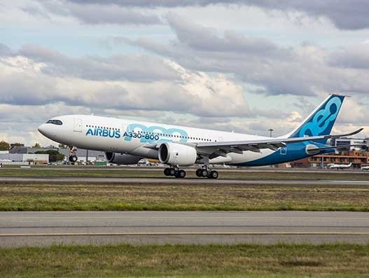 Airbus flies test A330-800 from Tianjin to donate 2 million face masks to Europe