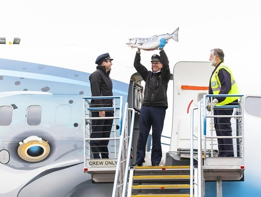 Alaska Air Cargo brings the season's first Copper River salmon to Seattle