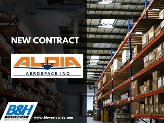 Aloia Aerospace signs with B&H Worldwide for three years