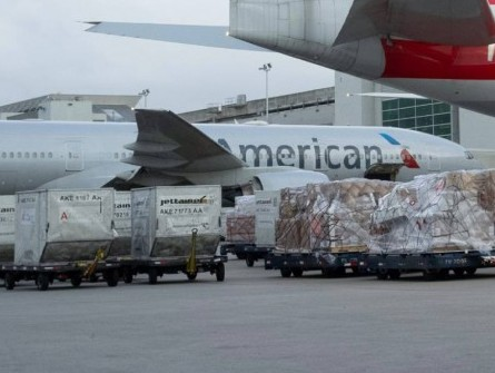 American Airlines Cargo conducting trial flights for Covid-19 vaccine transportation