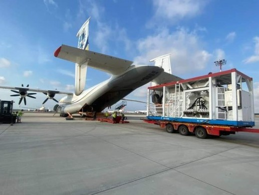 Antonov moves urgent cargo for deep-sea repair works to Turkey