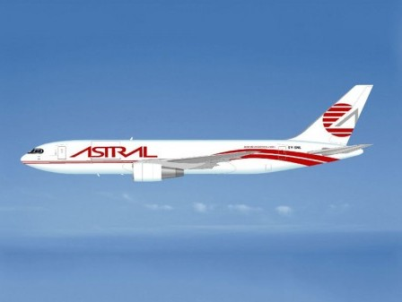 ATSG delivers Astral Aviation's first Boeing 767 freighter