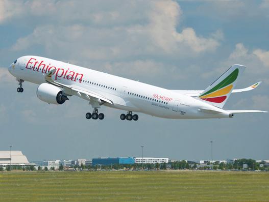 Ethiopian B787 Dreamliner touches down at Kaduna, Nigeria