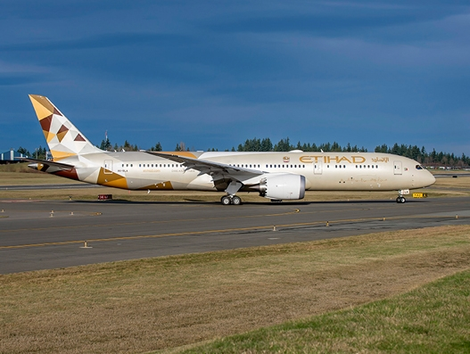 Etihad Airways expands Boeing 787 network