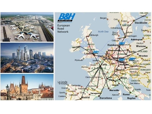 B&H Worldwide opens new offices in Frankfurt and Prague