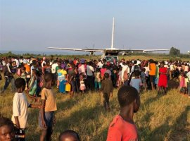 Reach for the skies: New plane increases efficiency of WFP emergency response in flood-hit Mozambique