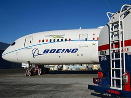 Boeing commits to deliver commercial airplanes ready to fly on 100% sustainable fuels