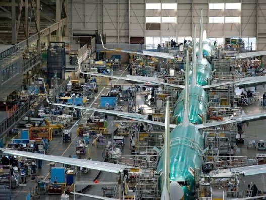 Boeing to restart production in phases at Puget Sound