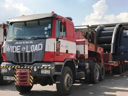 Energy projects in Uganda on track with the help of Bolloré Logistics East Africa teams