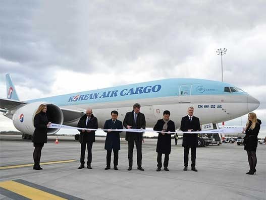 BUD welcomes first direct Seoul-Budapest cargo flight