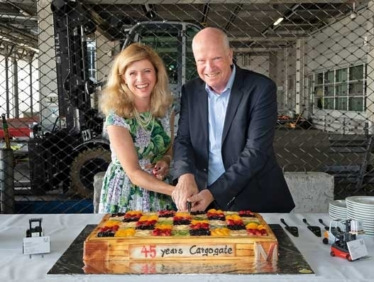 Cargo has a future, says Claudia Weidenbusch at Cargogate's 45th anniversary