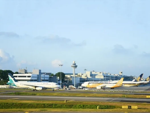 Cargo volume down at Changi Airport in May