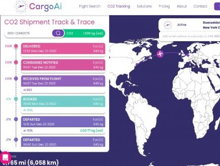 CargoAi adds CO2 emission calculation features; drives sustainability