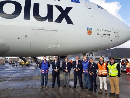 Cargolux returns to Santiago de Chile