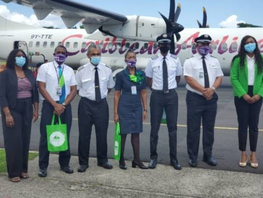 Caribbean Airlines launches service between Barbados and Dominica