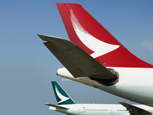 Cargo volume up for Cathay Pacific and Cathay Dragon in January