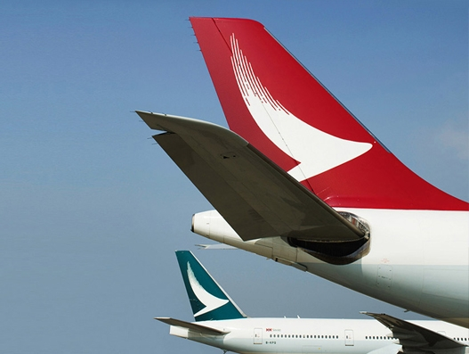 Cathay Pacific's cargo business continues to see positive growth in March
