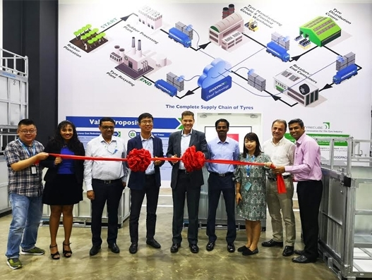 CEVA Logistics, Goodpack celebrate the launch of Tyrecube