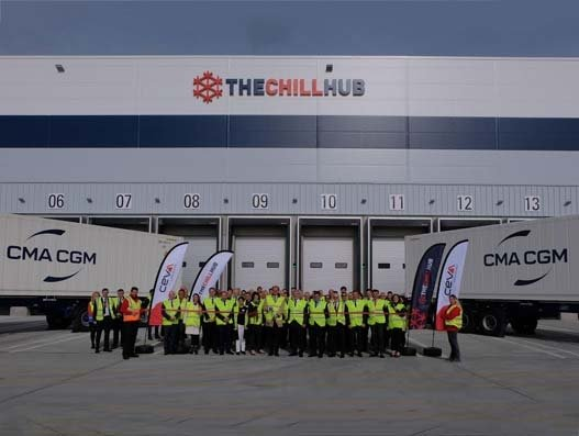 CEVA Logistics' new Chill Hub now officially open at DP World London Gateway