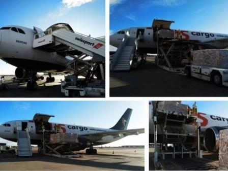 Chapman Freeborn transports life-saving medical supplies around the world
