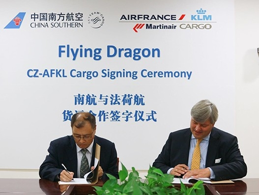China Southern Airlines Cargo, Air France KLM Martinair Cargo deepen strategic ties