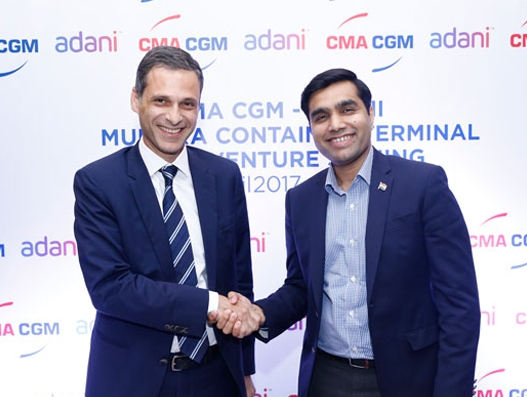 CMA CGM & Adani Ports form JV to run Mundra Port's new container terminal