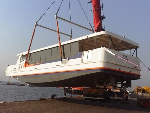Bolloré Transport & Logistics Ivory Coast handles another oversized shipment