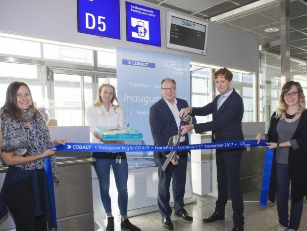 Cobalt Air connects Frankfurt with Larnaca with twice-weekly services